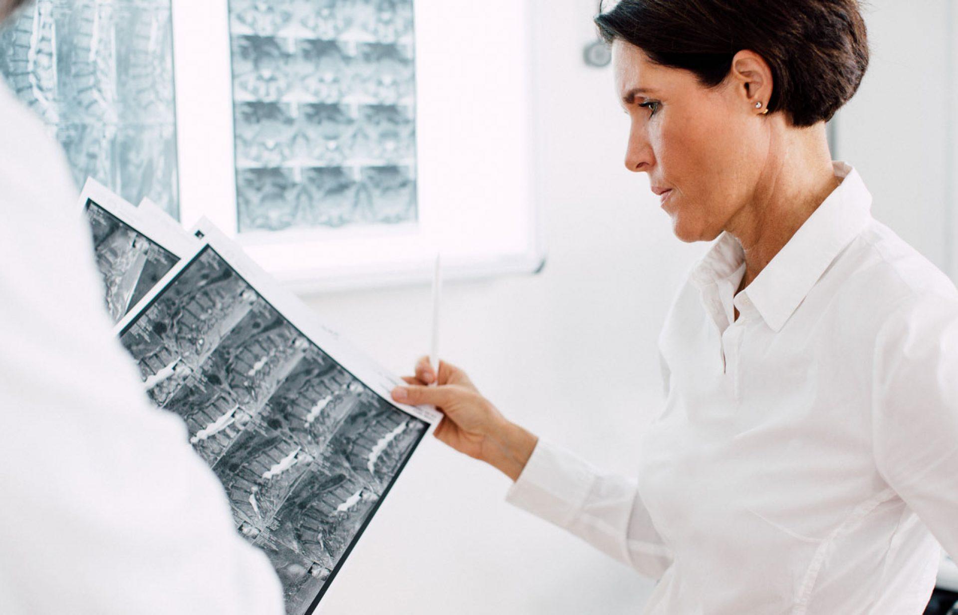 Radiofrequenztherapie der Nervenwurzeln