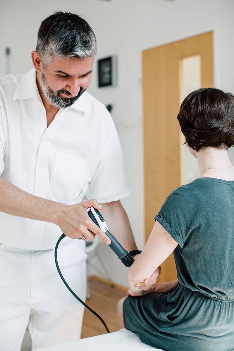 Stosswellentherapie im medsyn, wien