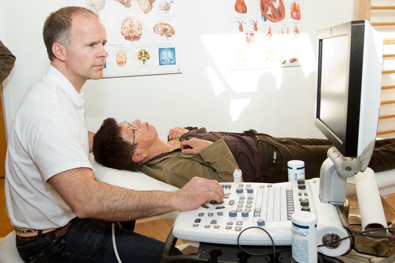Neurologische Ultraschalldiagnostik durch Dr. Raoul Eckhardt