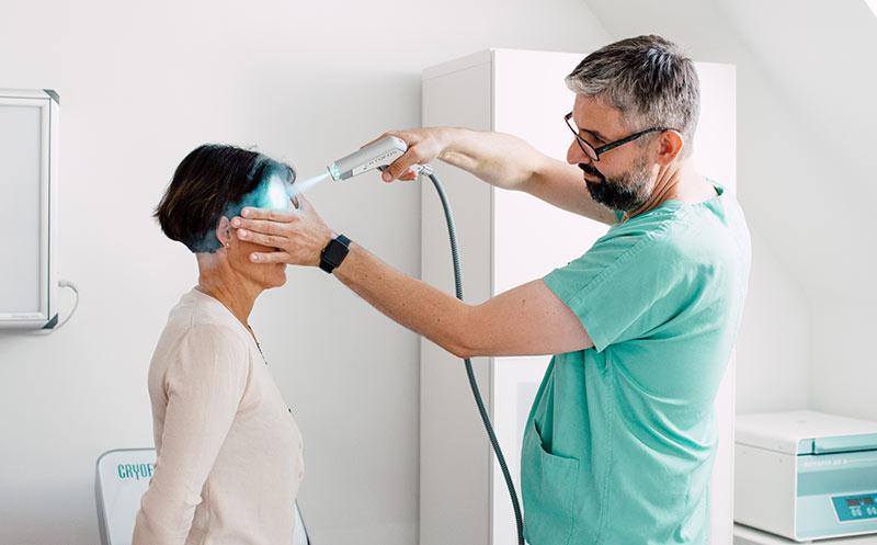 Cryofos Kältereiztherapie im medsyn
