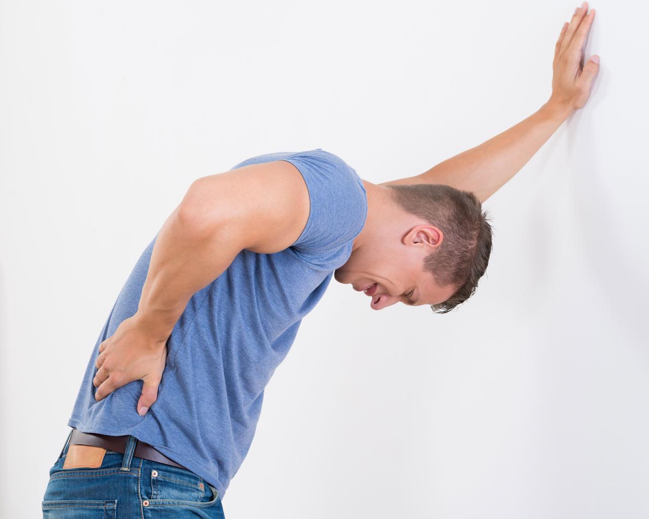 Epidurale sakrale Infiltration - Schmerztherapie