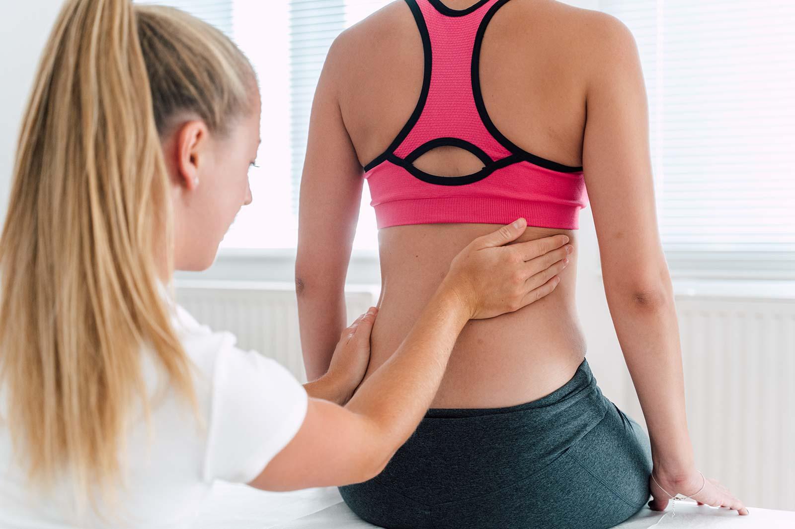 Viszerale Therapie bei Problemen verbunden mit Operationen, Menstruation, Schwangerschaft und Geburt. Hervorragende Behandlungsmöglichkeiten im medsyn Wien