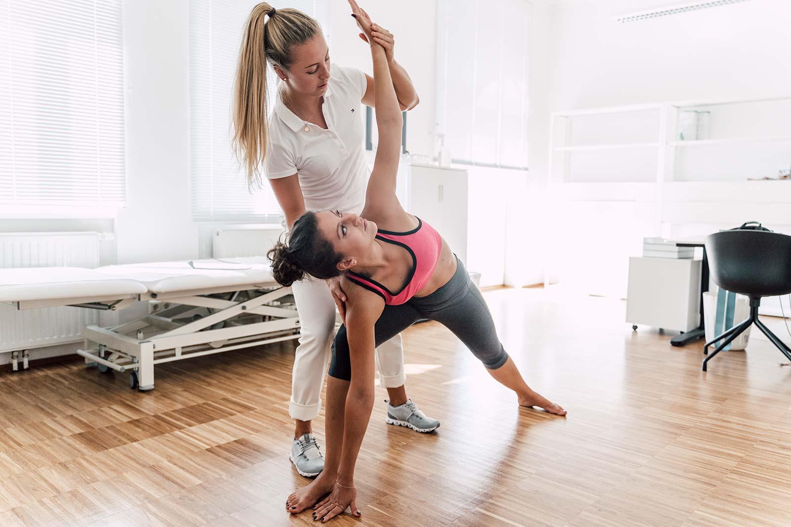 Therapeutisches Yoga mit Livia Tasch, BSc. im medsyn, 1190 Wien