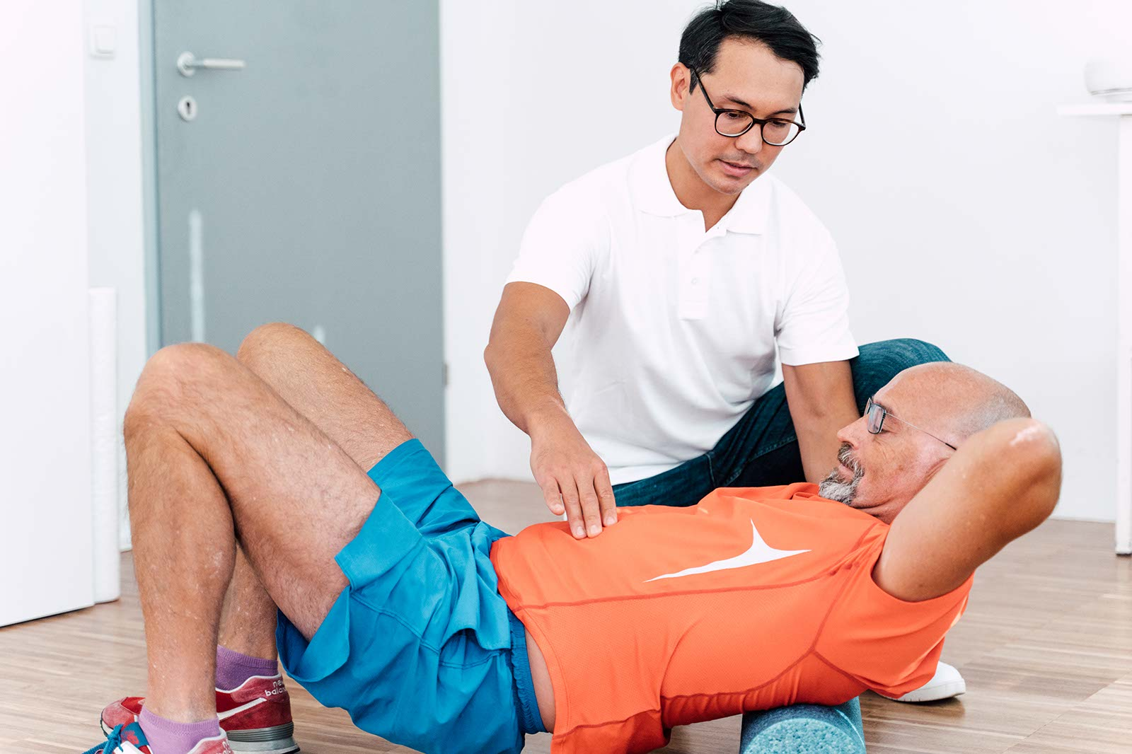 Therapiekonzepte gegen Rückenschmerzen mit Michael Schilling, BSc.